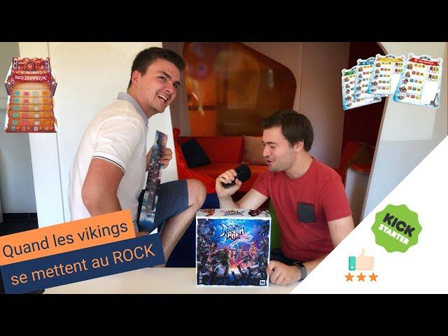 Ragnarok Star : LE jeu sur le thème du ROCK ! Review KS #3