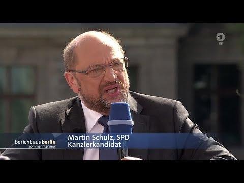 ARD Sommerinterview mit Martin Schulz - 27.08.2017