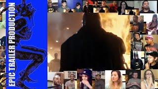 Batman v Superman  Dawn of Justice Trailer #2 Reaction Mashup Epic