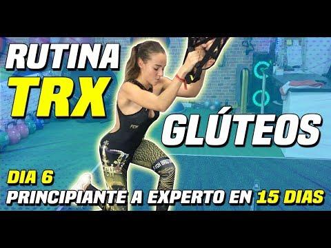 RUTINA TRX GLUTEOS   RETO TRX Principiantes a Expertos    15 Dias