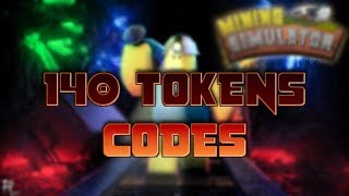 [CODES] How to Get Free 140 Tokens | Roblox Mining Simulator