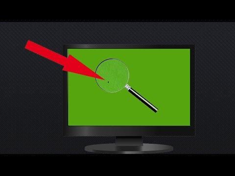 Как убрать битые пиксели