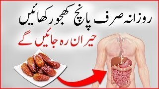 Why We Should Eat Dates Daily