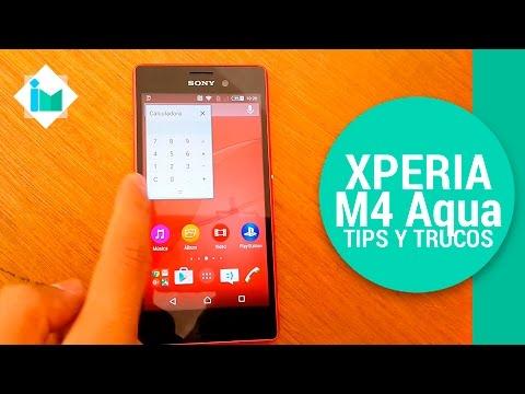Sony Xperia M4 Aqua - Tips y trucos