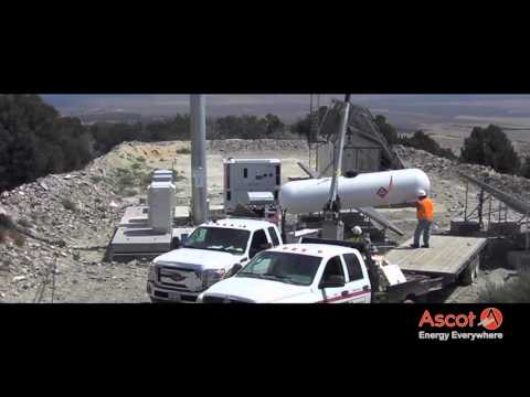Installation of Hybrid Power Unit LPG in Nevada (USA) 2015