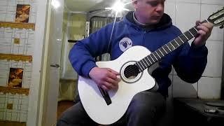 "На гитаре.  Сумерки . Моцарт ""музыка ангелов"""