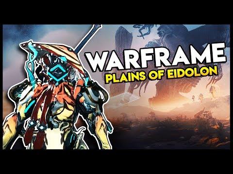 IVARA THE NINJA ON THE PLAINS OF EIDOLON - Warframe Plains of Eidolon Gameplay