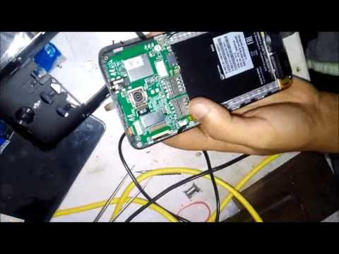 Micromax E455 Mobile Disassembly