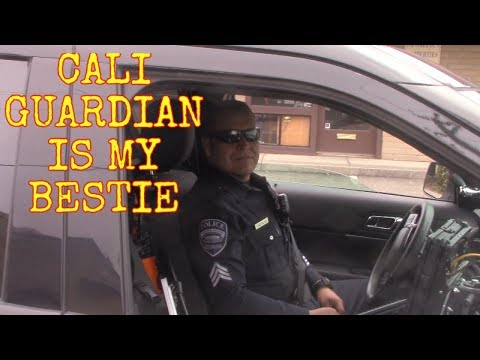 *SERGEANT TELLS US ABOUT HIS FRIEND* POLICE PARKING LOT (Arroyo Grande, Ca)