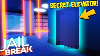 I GLITCHED INTO THE *SECRET* JAILBREAK ELEVATOR... (Roblox)