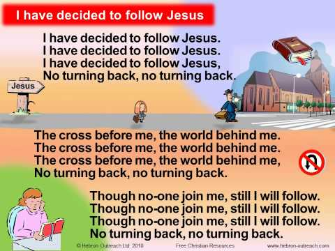 I Have Decided To Follow Jesus  - Chorus - hebron-outreach.com