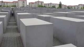 Holocaust Jewish Memorial Berlin Germany - Holocaust-Mahnmal Berlin Germany