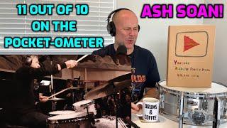 Drum Teacher Reacts: ASH SOAN   Zildjian LIVE! (POCKET ALERT)