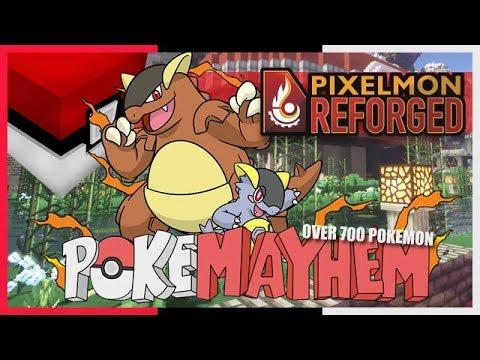 mcpe pokemon server
