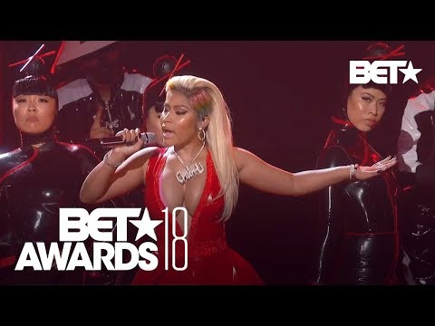 Nicki Minaj With A Sexy 鈥淐hun-Li  & 鈥淩ich Sex  Performance! | BET Awards 2018