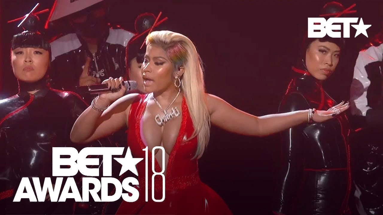 "Download Nicki Minaj With A Sexy ""Chun-Li"" & ""Rich Sex"" Performance! 