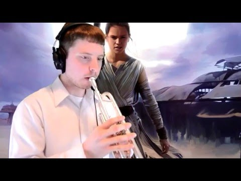 "Rey's Theme (from ""Star Wars: The Force Awakens"") Trumpet Cover"