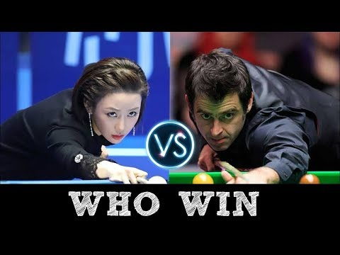 LIVE Pan Xiaoting 潘晓婷 vs. Ronnie O'Sullivan | Exhibition 9 Ball ᴴᴰ 2017
