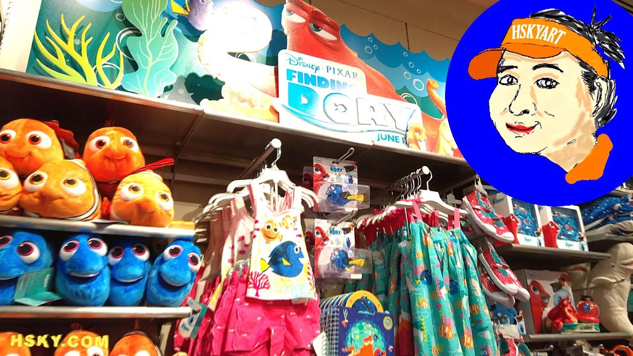 Disney Store Toys : V hsky finding dory toys disney store new