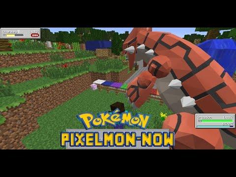 Minecraft โปรโมทเซิฟมอด Pixlemon-Now [MOD] - Rivth28