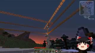 【Minecraft】科学の力使いまくって永久光ができるまで Part02【ゆ…
