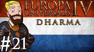 Europa Universalis 4 Dharma | Netherlands into India | Part 21