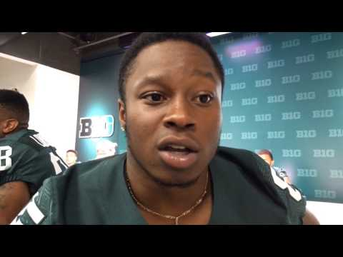Michigan State WR Macgarret Kings Jr. 'running routes with more speed'