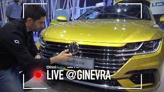 Volkswagen Arteon | Salone di Ginevra 2017