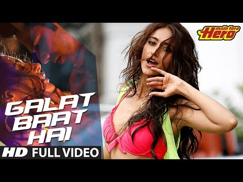 Main Tera Hero | Galat Baat Hai Full Video Song | Varun Dhawan, Ileana D'Cruz, Nargis Fakhri