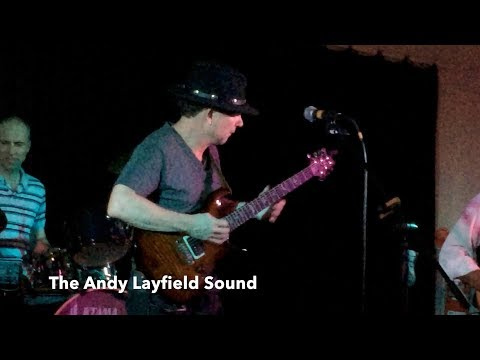The Andy Layfield Sound performs at The Basin Music Festival 2017