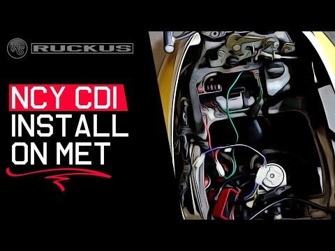 NCY CDI INSTALL ON 2003-2009 HONDA METROPOLITAN