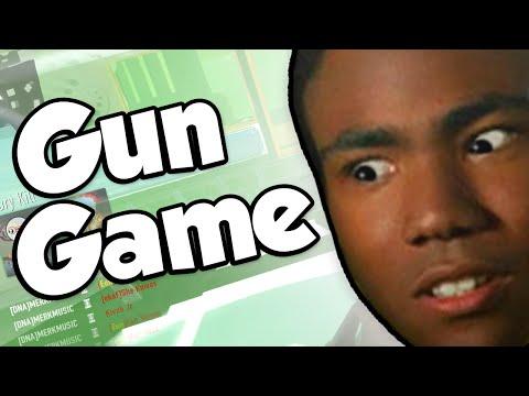 GUN GAME DNA BOMB!? (Call of Duty: Advanced Warfare Gun Game)