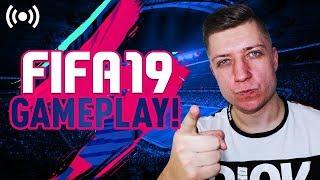 FIFA 19 - GAMEPLAY - OGLĄDAMY MECZE Z GAMESCOM!! // OSTATNIE DRAFTY/PACZKI FIFA 18! - Na żywo