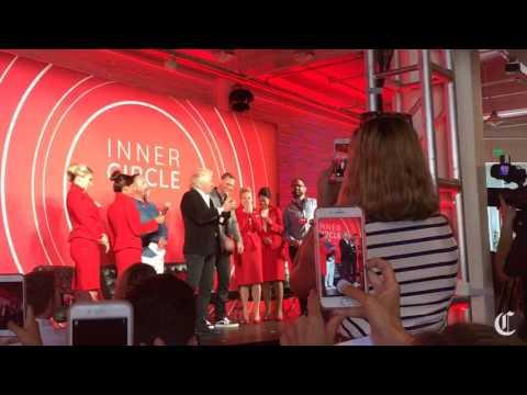 Virgin Mobile USA press event