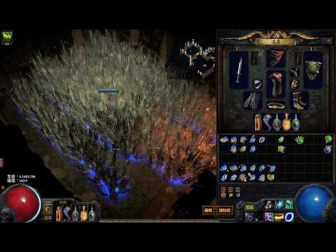 PoE 流亡黯道 2.2 All Possible Spell Cluster Traps 全法術散彈陷阱