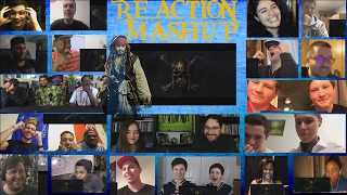 PIRATES OF THE CARIBBEAN 5: Dead Men Tell No Tales Extended Super Bowl Spot Reaction Mashup