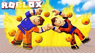 Roblox Adventures - IF DENIS & ALEX FUSED INTO ONE PLAYER! (Dragon Ball Z)