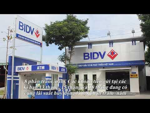 Lãi Suất Ngân Hàng BIDV Mới Nhất Tháng 11/2019: Cao Nhất 7%/năm