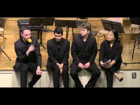 Preconcert Talk with Calidore Quartet