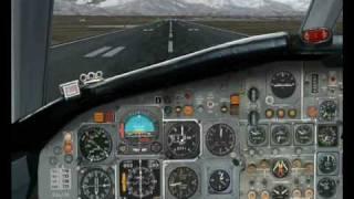 BAC 1-11 landing in Torino (Fs2004)
