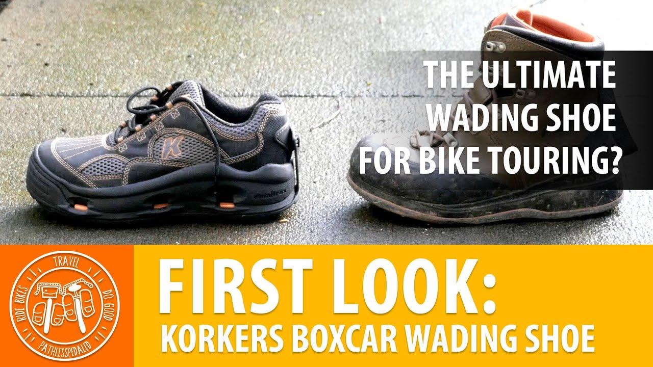 31ed3b4a41f3 Korkers Boxcar Wading Shoe - PathLessPedaled.com - YouTube