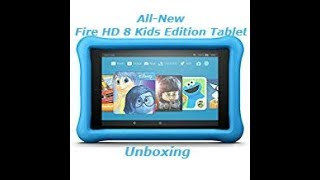 Amazon All-New Fire HD 8 Kids Edition Tablet Unboxing