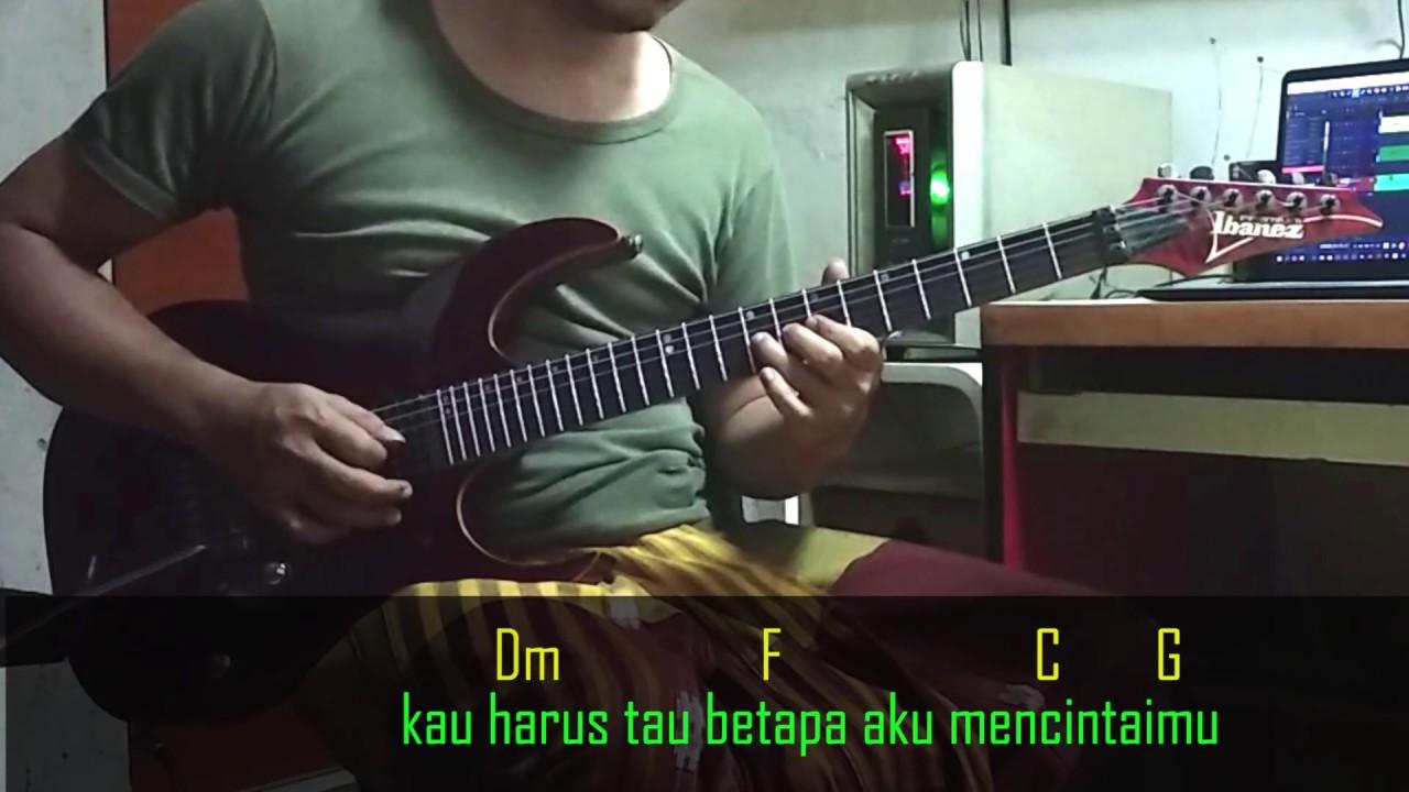 Vagetoz Betapa Aku Mencintaimu Guitar Instrumental Chord Lirik