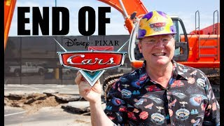 JOHN LASSETER Leaving Disney and Pixar - End of Disney Cars Franchise?