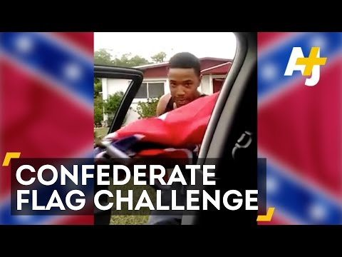 Thumbnail: No Flagging Challenge Dares People To Take Down Confederate Flags