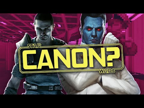 Is Starkiller Canon? Force Unleashed and Expanded Universe Canon | Star Wars Video Games Canon