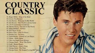 Country Classics With Jim Reevs, Johnny Cash, George Jones, Marty Robbins, Ricky Nelson, Brenda Lee