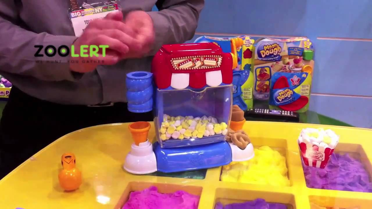 Zoolert Moon Dough Snack Shop 2011 Ny Toy Fair Youtube