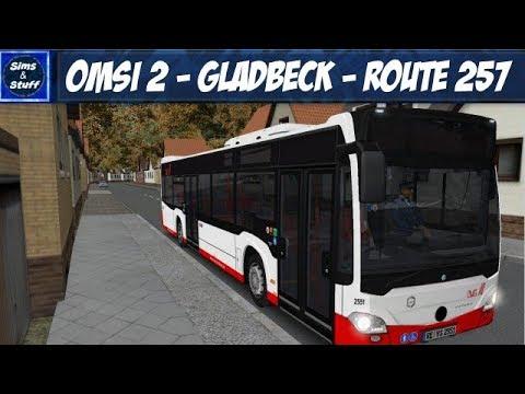 Omsi 2 - Gladbeck - Route 257 - Gladbeck Citybus |