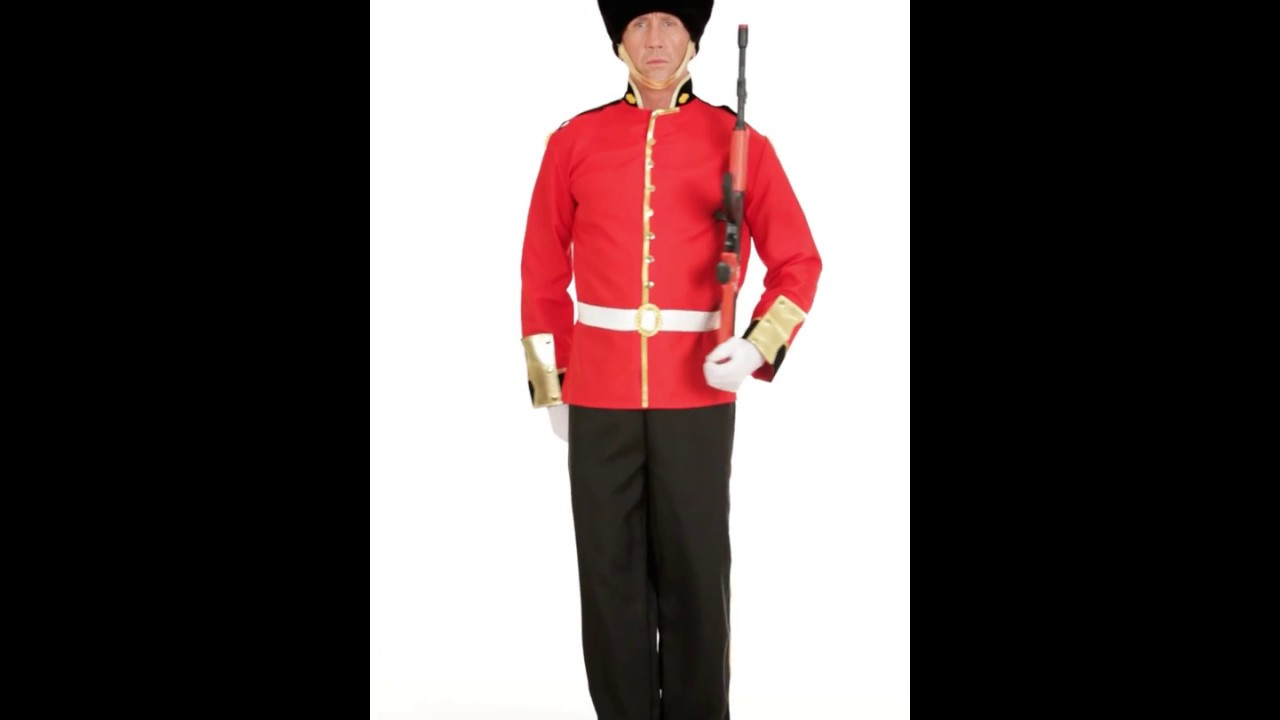 Guardia Disfraz De Real Youtube Británico 5SqqF